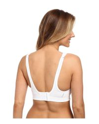 Jockey Active Wicking Cotton Comfort Sports Bra (white) Bra