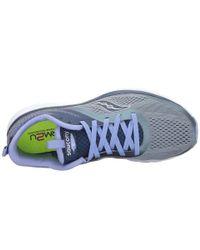 Saucony Blue Liteform Miles (grey/navy/purple) Women's Running Shoes