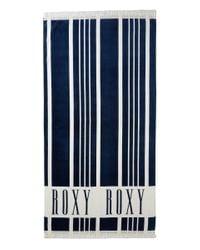 Roxy - Can't Wait Beach Towel (dress Blues Vertical Stripes) Bath Towels - Lyst