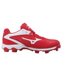 Mizuno | Red 9-spike® Advanced Franchise 8 Low for Men | Lyst