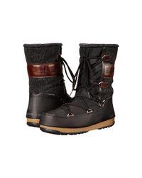 Tecnica Gray Moon Boot(r) Vienna Felt (black) Boots