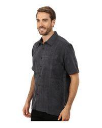 Quiksilver Aganoa Bay 4 Woven Top (black) Clothing for men