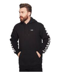 Vans Black Checker Sleeve Pullover Hoodie for men