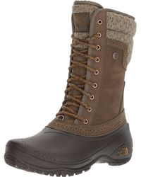 The North Face - Green Shellista Ii Mid - Lyst
