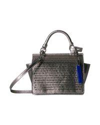 Vince Camuto Metallic Leif Small Crossbody (nero) Cross Body Handbags