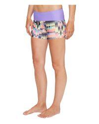 Prana Blue Rai Swim Shorts