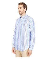 Polo Ralph Lauren Blue Classic Fit Long Sleeve Oxford Shirt for men