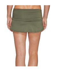 Carve Designs Green Playa Skirt Bottom