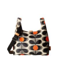 Orla Kiely - Multicolor Midi Sling Bag (indigo) Handbags - Lyst