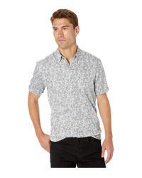 Ted Baker Blue Buffilo Short Sleeve Botanical Print Shirt for men
