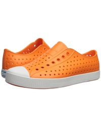 Native Shoes Orange Jefferson