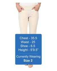 Jag Jeans Natural Peri Pull-on Straight Leg Pants In Bay Twill (stone) Women's Casual Pants