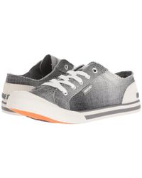 Rocket Dog Gray Jazzin (charcoal Squad) Lace Up Casual Shoes