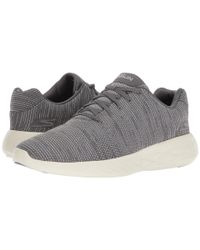 Skechers Gray Gorun 600 - Obtain (charcoal) Men's Running Shoes for men