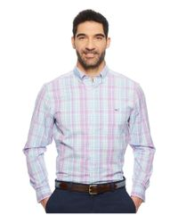Vineyard Vines - Blue New Providence Plaid Classic Tucker Shirt (sea Urchin) Men's Clothing for Men - Lyst