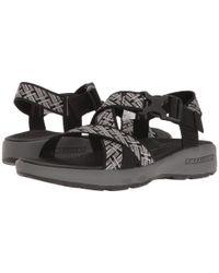 Skechers Black Outdoor Adjustable Sandal for men