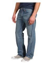 Levi's Blue Levi's(r) Mens 569(r) Loose Straight Fit (dark Chipped) Men's Jeans for men