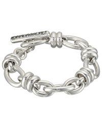Pomellato - Metallic B.b220tma/a/20 20cm Rondelle Oval Bracelet - Lyst