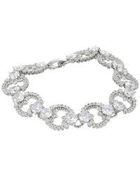 Marchesa - Metallic Rise And Shine 7.25 Link Flex Bracelet - Lyst
