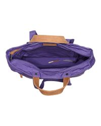 Fjallraven - Purple Totepack No. 1 (blue Ridge) Backpack Bags - Lyst