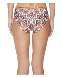 Kenneth Cole - Multicolor Casablanca Hipster Bikini Bottom - Lyst