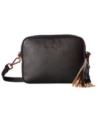 Ted Baker - Black Metallic Tassel Camera Bag - Lyst