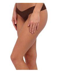 Hanky Panky Multicolor Signature Lace Low Rise Thong 5-pack (classics) Women's Underwear