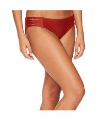 Body Glove Multicolor Smoothies Ruby Low Rise Bottom