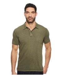 John Varvatos - Green Pigment Rub Peace Polo K1381u1b for Men - Lyst