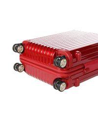 Rimowa Salsa Deluxe - Cabin Multiwheel(r) (oriental Red) Pullman Luggage