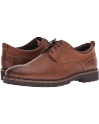 Rockport Brown Marshall Pt Oxford, 8.5 W Uk, Fawn for men