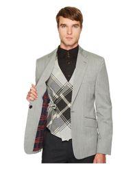 Vivienne Westwood Gray Classic Wool Waistcoat Blazer (grey) Jacket for men