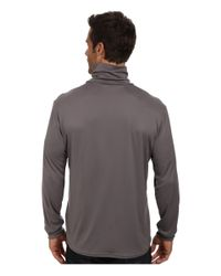 Hot Chillys | Black Peach Solid Roll T-neck for Men | Lyst
