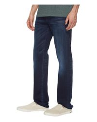 7 For All Mankind Blue Slimmy In Parallax for men