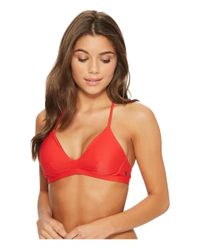 Hurley - Red Quick Dry Surf Top - Lyst