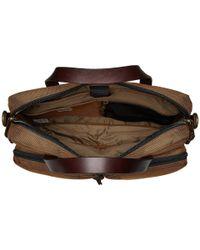 Filson Brown Dryden Briefcase (dark Navy) Briefcase Bags for men