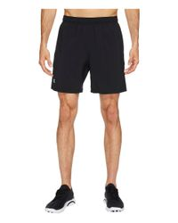 """Under Armour Black Ua Launch Stretch Woven 7"""" Shorts for men"""