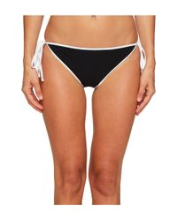 Jonathan Simkhai - Black Reversible String Bikini Bottoms - Lyst