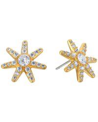 Kate Spade - Metallic Seeing Stars Star Stud Earrings - Lyst