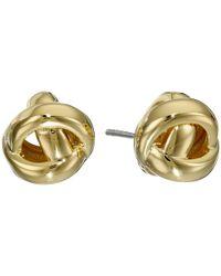 Kate Spade - Metallic Dainty Sparklers Knot Studs Earrings - Lyst