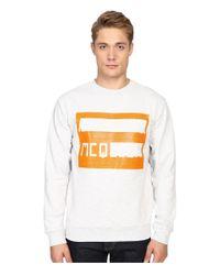 McQ White Clean Crew Neck for men