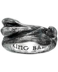 King Baby Studio   Metallic Bone Ring for Men   Lyst