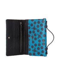 Vivienne Westwood - Green Dotmania Travel Wallet - Lyst