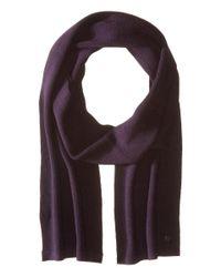 Z Zegna - Blue Pearl Stitch Hydrorepellent Merino Wool Scarf for Men - Lyst