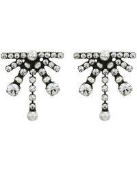 DANNIJO - Metallic Andi Earrings - Lyst