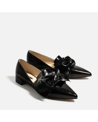Zara | Multicolor Flat Shoes With Bow Detail | Lyst