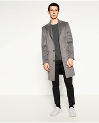 Zara | Gray Short Sleeve T-shirt for Men | Lyst