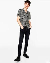 Zara | Multicolor Printed Shirt for Men | Lyst