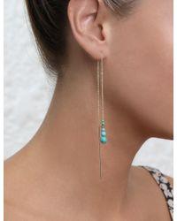 Zimmermann | Multicolor Turquoise Thread Fine Earrring | Lyst