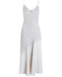 Zimmermann | Multicolor Stranded Tuck Slip Dress | Lyst